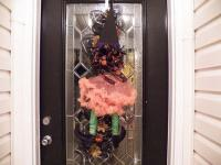 Wicked Witch Halloween Door Wreath, Swag, from