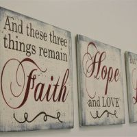 Best Love Faith Hope Signs Products on Wanelo