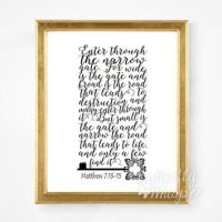 Scripture Printable, Bible verse from TwoBrushesDesigns on ...