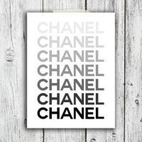 Shop Chanel Framed Art on Wanelo