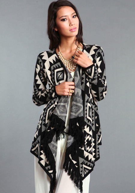 Tribal Fly Away Cardigans
