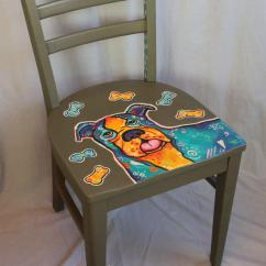 Accent Chair Orange Oak Rocking Plans Whimsical Hand Painted Decorative From Theartsypaintedchair