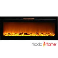Moda Flame Cynergy Log Built-In Wall Mounted Electric ...