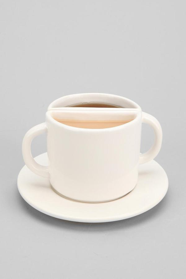 Tea For Two Cup from Urban Outfitters Home Kitchen