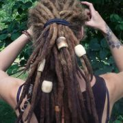 extra large dread beads 1 big