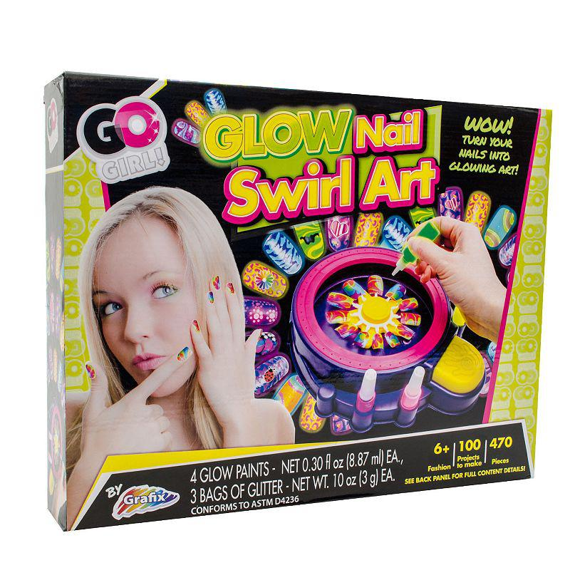 Go Glow Nail Swirl Art Kit By Grafix From Kohl S Nib Style My Way