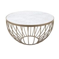 Best Round Gold Coffee Table Products on Wanelo
