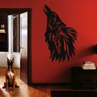 Best Howling Wolf Decal Products on Wanelo