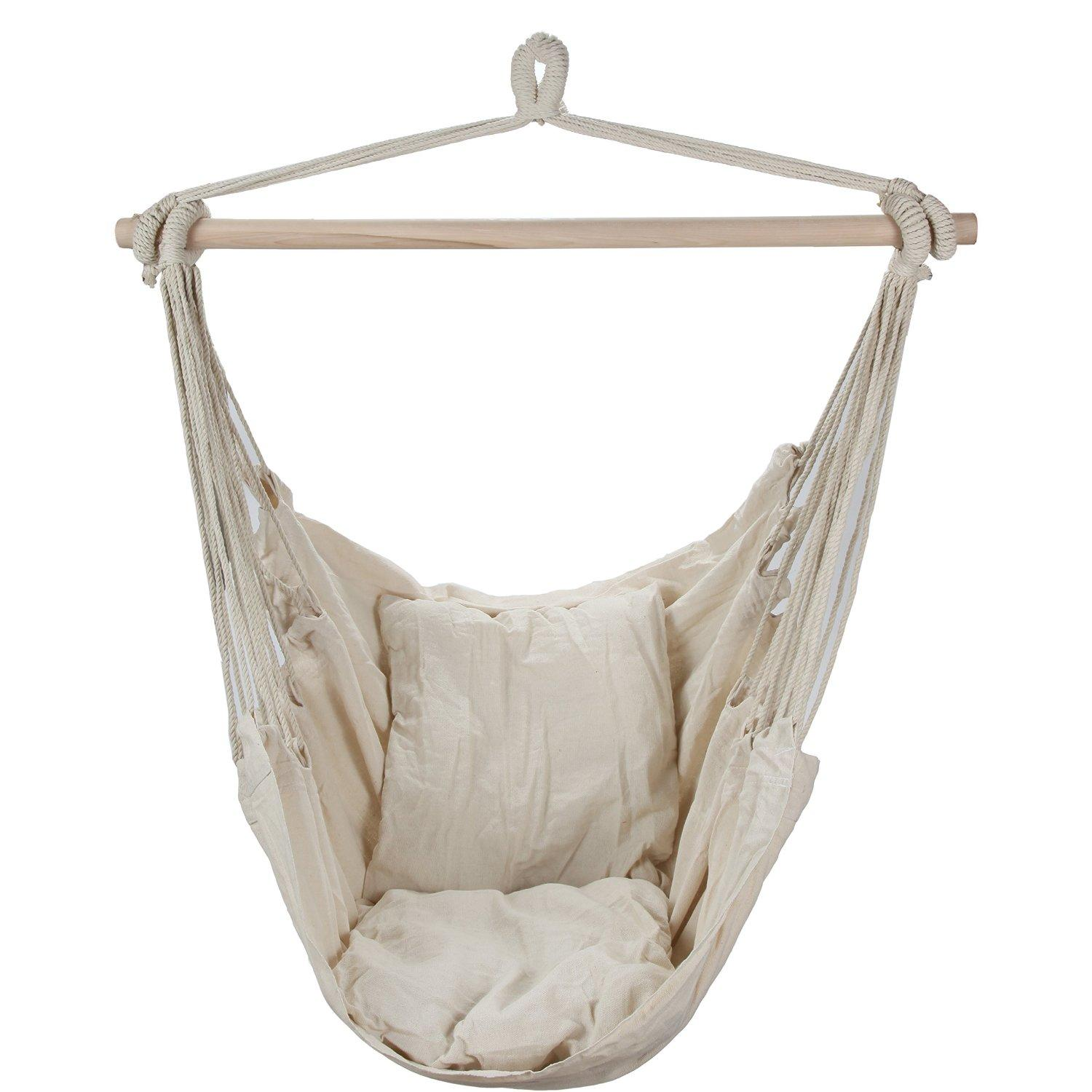 hammock chair amazon covers decoration ideas swing hanging with two from bed
