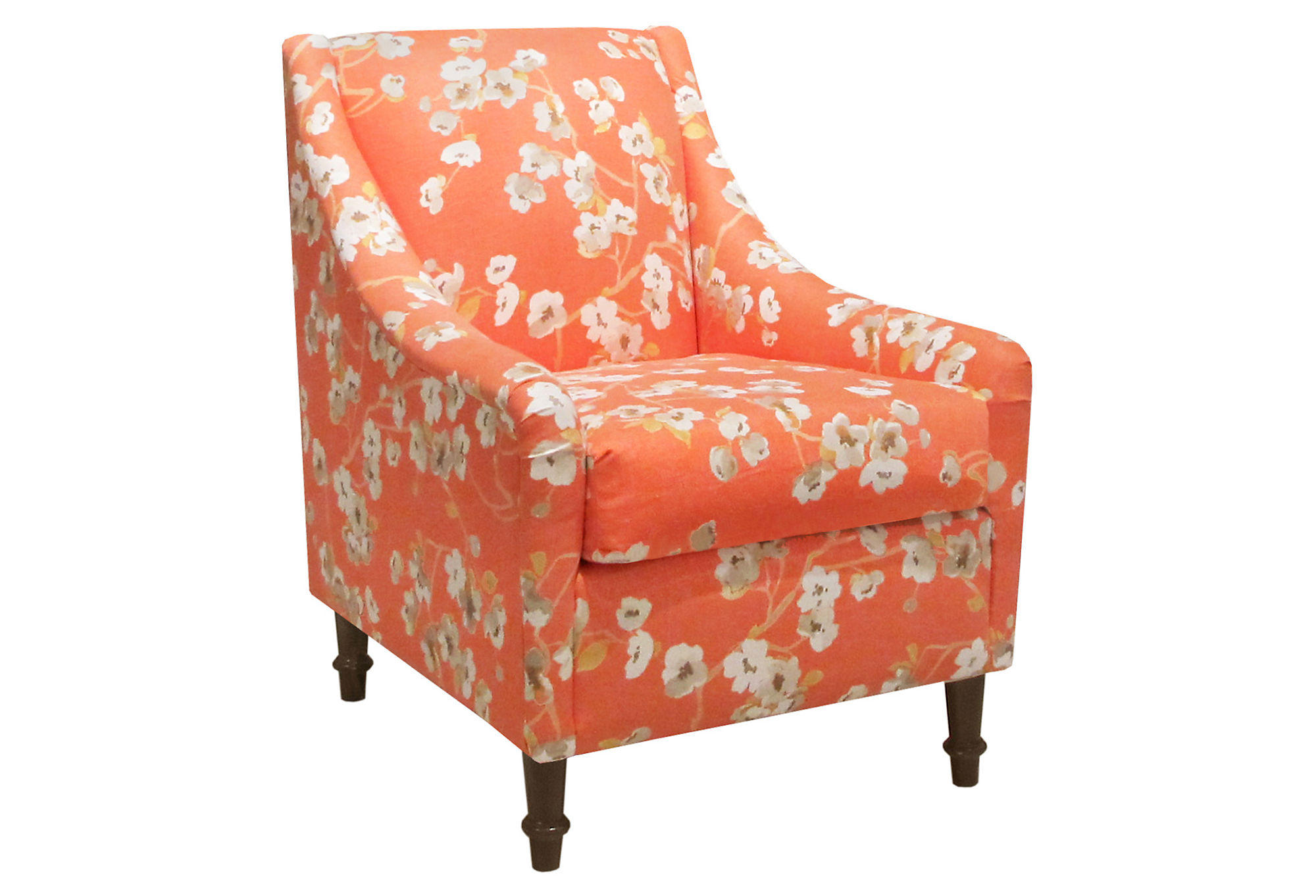 Orange Accent Chairs Holmes Accent Chair Orange Accent And From One Kings Lane