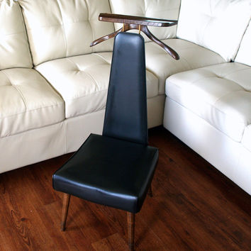 mens chair valet stand plastic wood adirondack chairs vintage gentleman s mid century from aces finds danish modern design executive men suit st