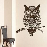 Owl Wall Decals Vinyl Sticker Decal Art from Amazon ...