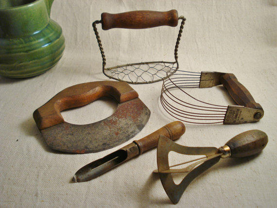 Collection of Vintage Kitchen Tools  from
