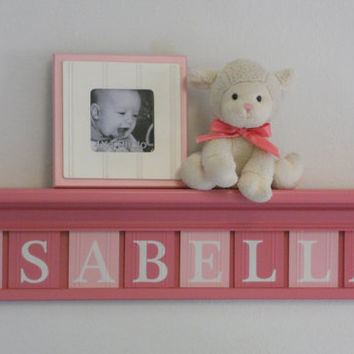 Baby Girl Wooden Name Signs Nursery Decor From Nelsonsgifts On
