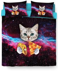 Taco Cat Bed Duvet Cover and Pillow Case from RageOn ...