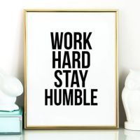Shop Motivational Wall Art For Office on Wanelo