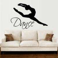 Wall Decals Quotes Dance Quote Dancer from Amazon | Wall ...