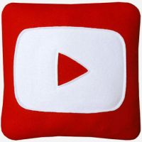 YouTube Pillow from craftsquatch | Mom this is for u