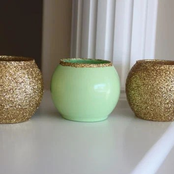 Mint And Gold 28