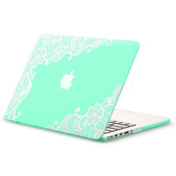 Kuzy Retina 13inch Lace Mint GREEN from Amazon Cool