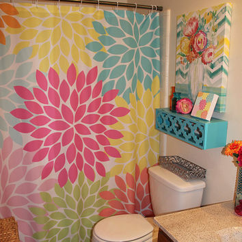 Best Flower Burst Shower Curtain Products On Wanelo