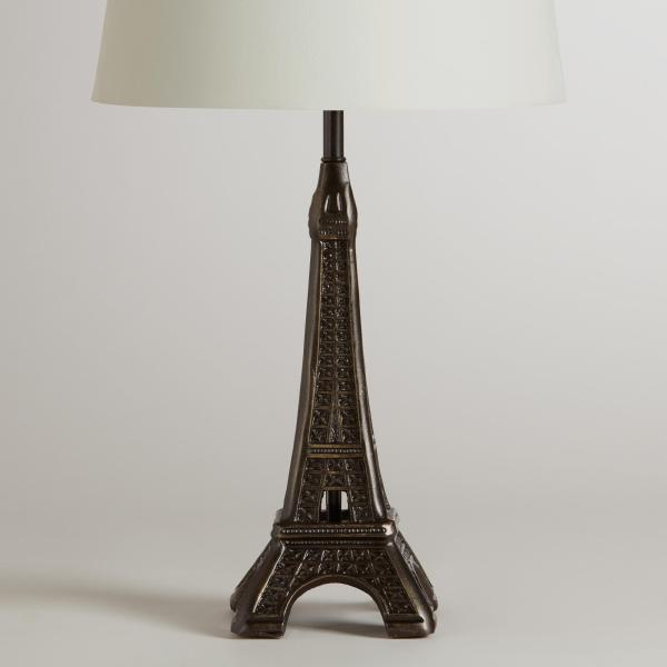 Eiffel Tower Accent Lamp Base - World Cost