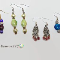 E-21-Handmade Ladies Earrings-Glass Bead from Lost ...
