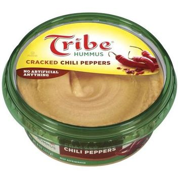 Tribe Cracked Chili Peppers Hummus 8 oz from Walmart FAV
