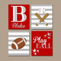 Shop Sports Themed Wall Art on Wanelo