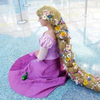 Rapunzel Tangled Inspired Braid Wig from Vendieh on Etsy