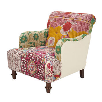 overstock arm chair graphic design shop living room chairs by best on wanelo jennifer taylor kantha floral uphosltered