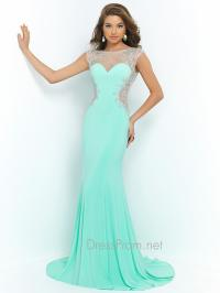 Blush Keyhole Back Prom Gown 9942 from Dress Prom | Blush Prom