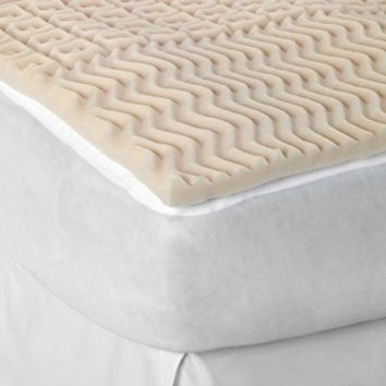 Sleep Zone 5 Egg Crate Foam Mattress Topper