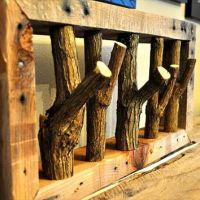 Shop Rustic Coat Rack on Wanelo