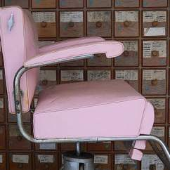 Pink Nail Salon Chairs Wishbone Chair Replica Mid Century Ladies From Brambleandbeeneetsy On Antique Barber Modern H