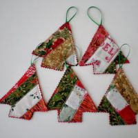 Christmas Ornaments Handmade Christmas from Love2quilt