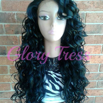 ON SALE Long Amp Straight Lace Front From GloryTress On Etsy