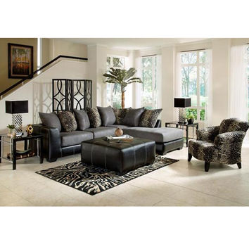woodhaven living room furniture shelves with doors 5th avenue ii from aarons com collection aaron s
