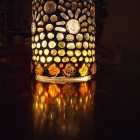 Shop Mosaic Glass Candle Holders on Wanelo