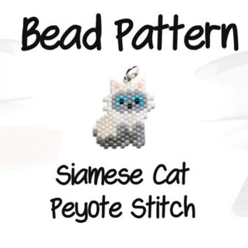 Bat Peyote Stitch Patterns, Halloween from BeadCrumbs on Etsy