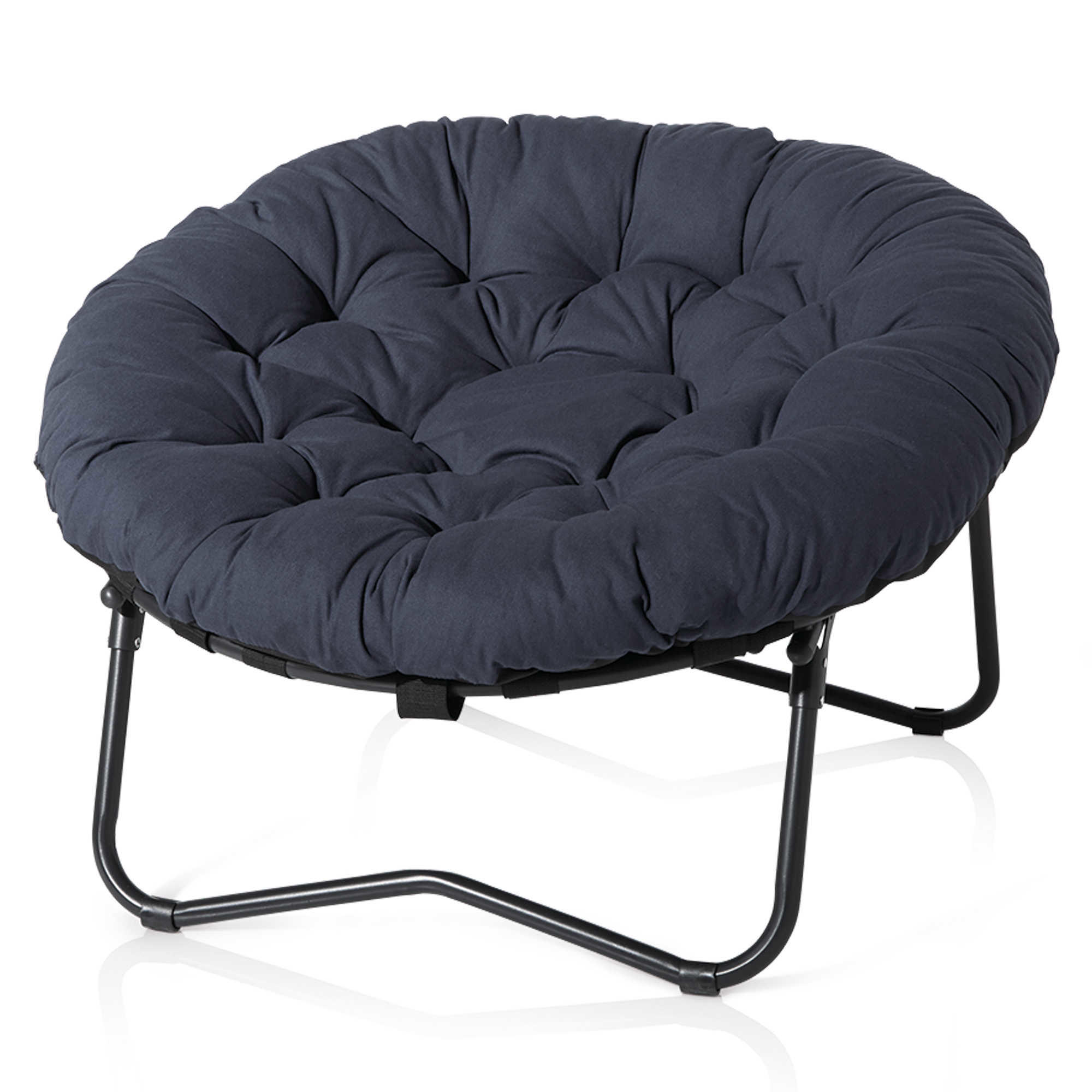 folding club chair bed bath beyond gas fire pit and set foldable oversized papasan in from