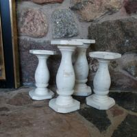 Shop Distressed Candle Holders on Wanelo