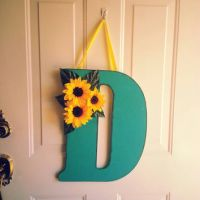 Best Monogram Door Hanger Products on Wanelo