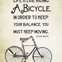 Best Life Is Like A Bicycle Products on Wanelo