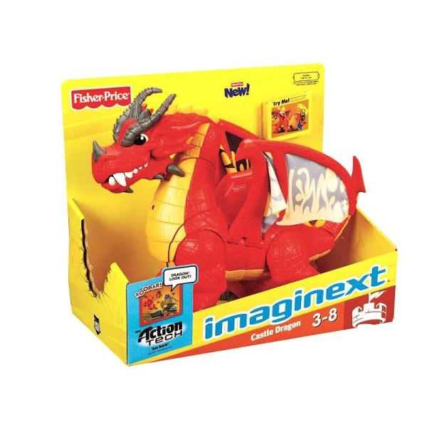 Imaginext Castle Dragon Kohl'