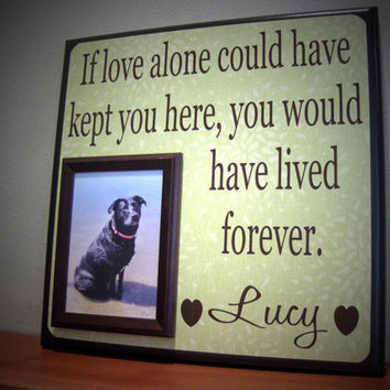 dog picture frame gift