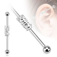 Best Industrial Bar Earrings Products on Wanelo