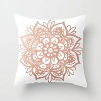 Best Rose Gold Pillow Products on Wanelo