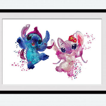 Best Lilo And Stitch Wall Decor Products on Wanelo