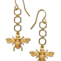 Best Honey Bee Earrings Products on Wanelo